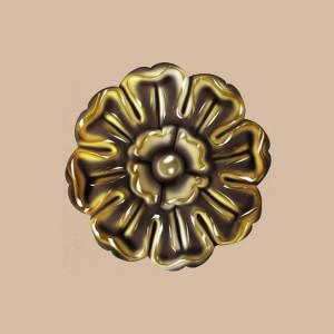 Розетка окрашенная из полиуретана 80095-57