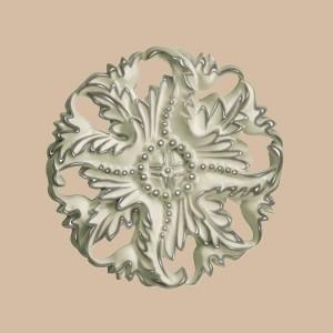 Розетка окрашенная из полиуретана 88125-59
