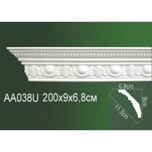 Карниз полиуретановый AA038U
