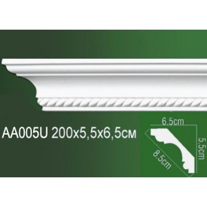 Карниз полиуретановый AA005U