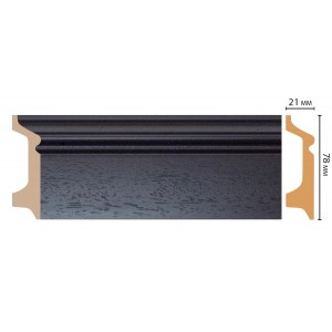 Цветной напольный плинтус D122-433 ДМ