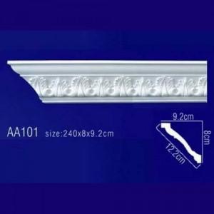 потолочный плинтус с орнаментом Гибкий AA101F