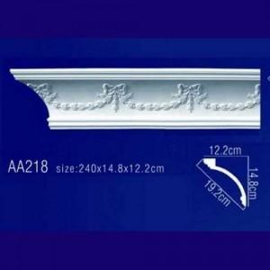 потолочный плинтус с орнаментом AA218