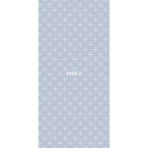 Панель ПВХ  0108-3 цветная.квадро голубой в Орле