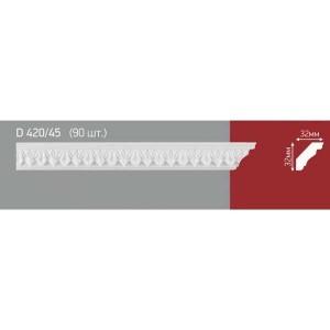 Плинтус потолочный полистиролD420-45 (90) в Орле