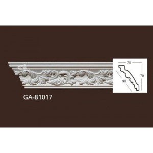 Карниз из полиуретана с онаментом 81017
