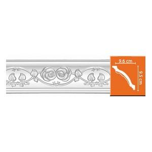 95602 потолочный плинтус с орнаментом DECOMASTER в Орле