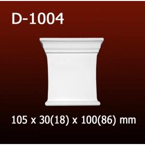 Дверной декор D1004(105*30/18*100/86) OptimalDecor
