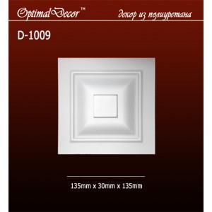 Дверной декор D1009 (135*30*135) OptimalDecor