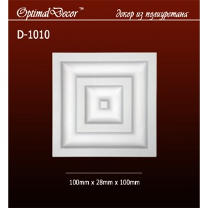 Дверной декор D1010 (100*28*100) OptimalDecor