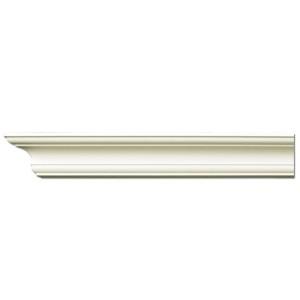 Плинтус потолочный с гладким профилем K205