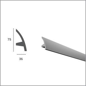 Карниз гибкий для светодиодной подсветки KF 502 в Орле