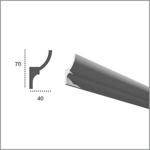 Карниз гибкий для светодиодной подсветки KF 701 в Орле