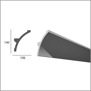 Карниз гибкий для светодиодной подсветки KF 708 в Орле