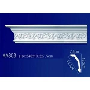потолочный плинтус с орнаментом AA303