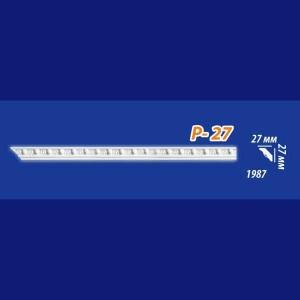 Плинтус потолочный инжекционный Kenopol Р27 в Орле