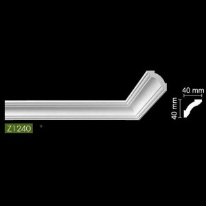 Гладкий потолочный профиль Z1240 в Орле