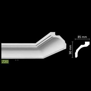 Гладкий потолочный профиль Z20 в Орле