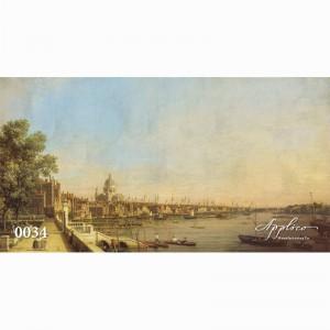 Фреска классический пейзаж фр0034 в Орле