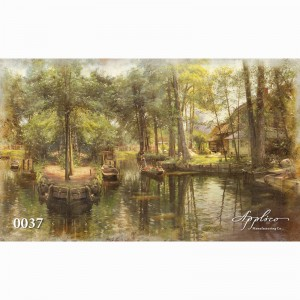 Фреска классический пейзаж фр0037 в Орле