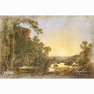 Фреска классический пейзаж фр0040 в Орле