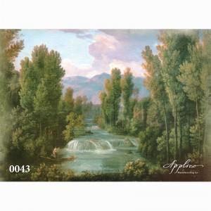 Фреска классический пейзаж фр0043 в Орле