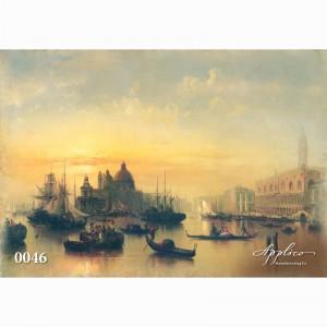 Фреска классический пейзаж фр0046 в Орле