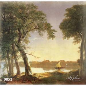 Фреска классический пейзаж фр0052 в Орле