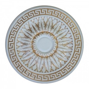 05-455 AWT розетка потолочная белый антик
