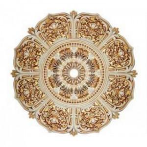 61-1008 AWT розетка потолочная белый антик (центральный круг + 8 лепестков)
