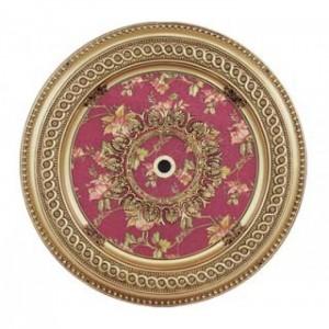 Панно 90RD-095 ABR круглое бронза антик