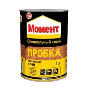 """Клей """"Момент Пробка"""", 1л"""